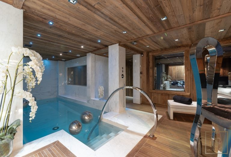 Chalet Courchevel 1850 with Swimming Pool Chalet Carat rental For Super Rich