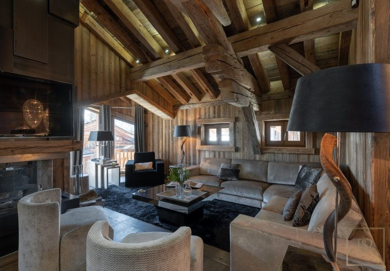 Chalet Courchevel 1850 with Swimming Pool available rental For Super Rich