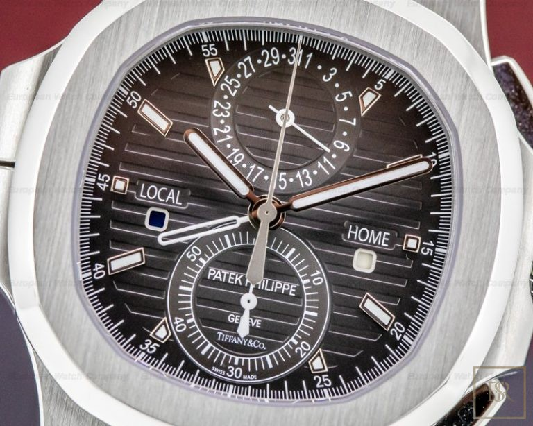 Watch PATEX PHILIPPE Nautilus Travel Time Chronograph Tiffany & CO.  United Arab Emirates for sale For Super Rich