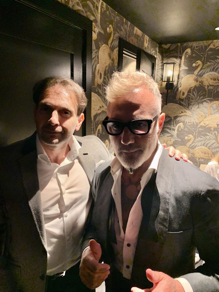 Eric Poirier ForSuperRich.com and Gianluca Vacchi