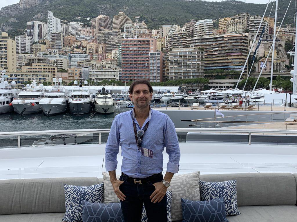 Eric Poirier at the Monaco Yacht Show