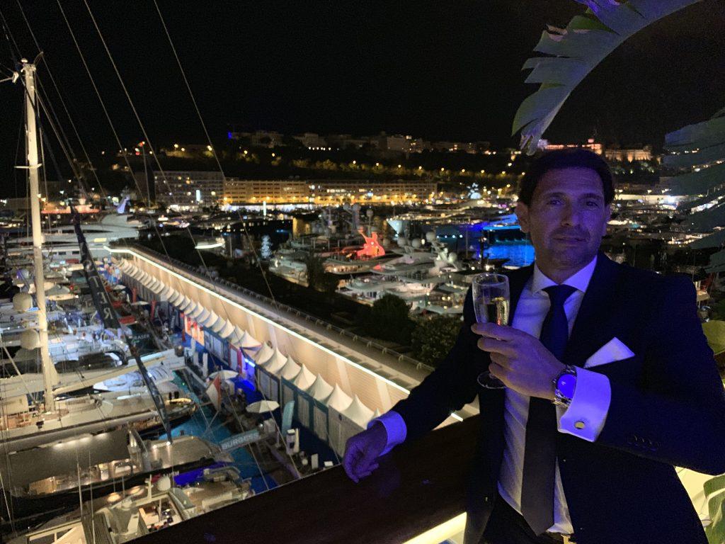 Eric Poirier Monaco Yacht Club