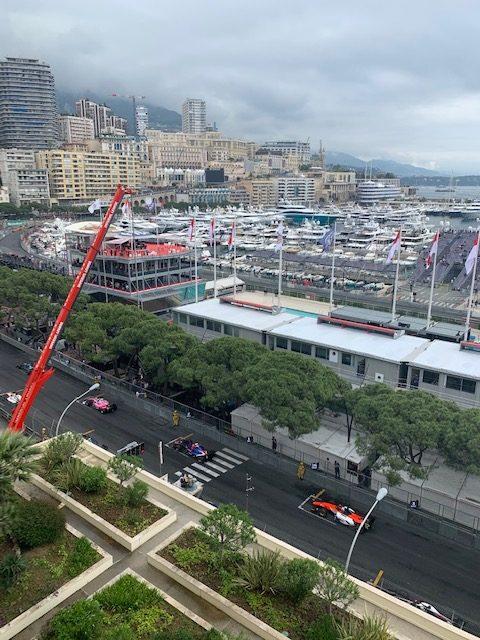 Starting Line Formula Grand Prix F1 Monaco