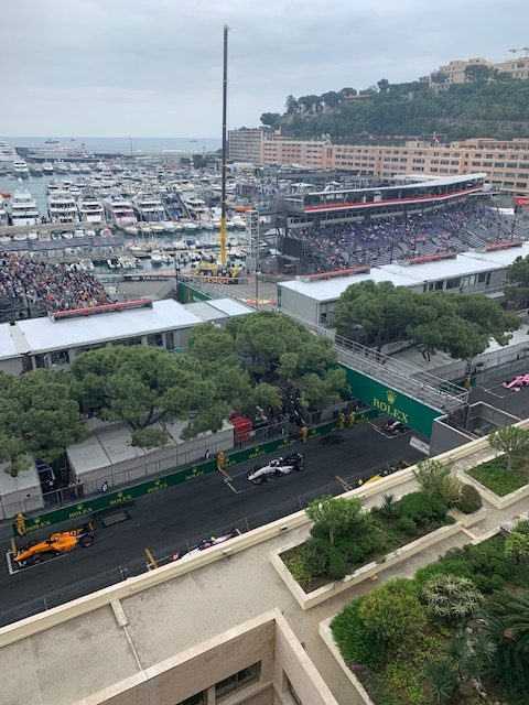 Finishing Line Formula Grand Prix F1 Monaco