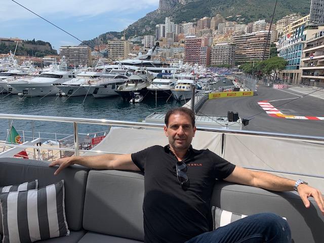 Eric Poirier Owner & Founder ForSuperRich.com on Superyacht F1 GP Monaco