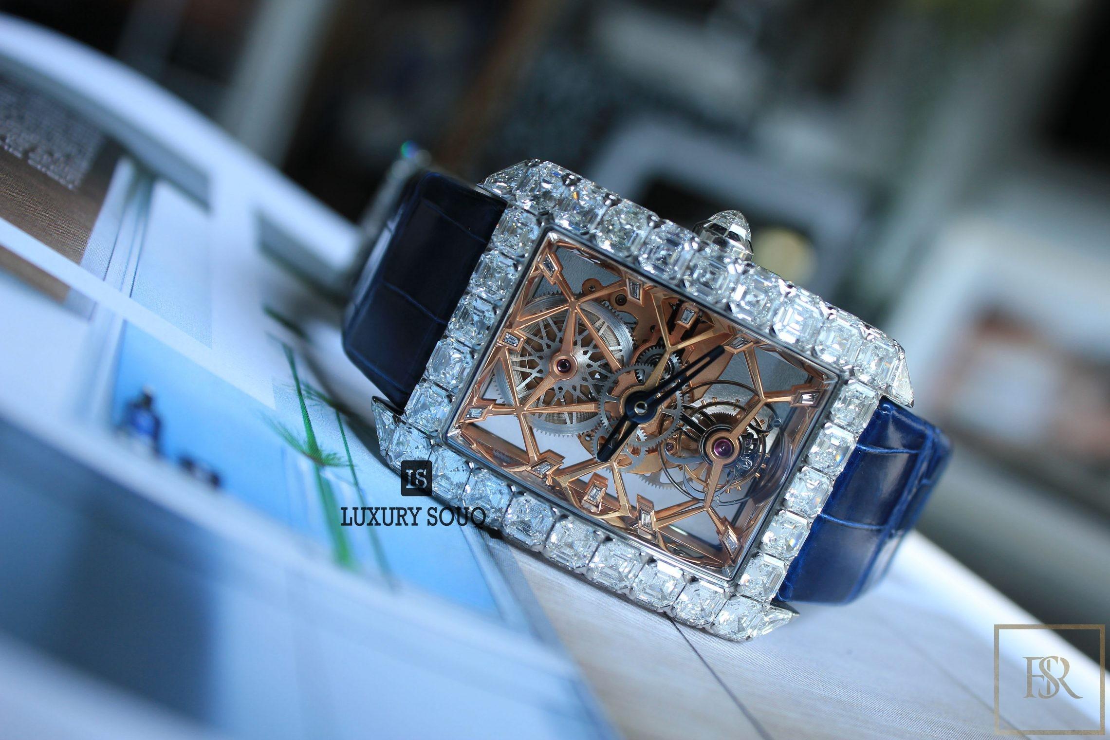 Watch JACOB & CO. Millionaire Skeleton 18k & Diamonds Limited Edition for sale For Super Rich