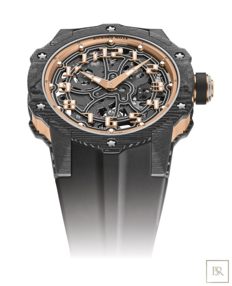 Watch RICHARD MILLE Round Automatic Extra Thin Carbon  United Arab Emirates for sale For Super Rich