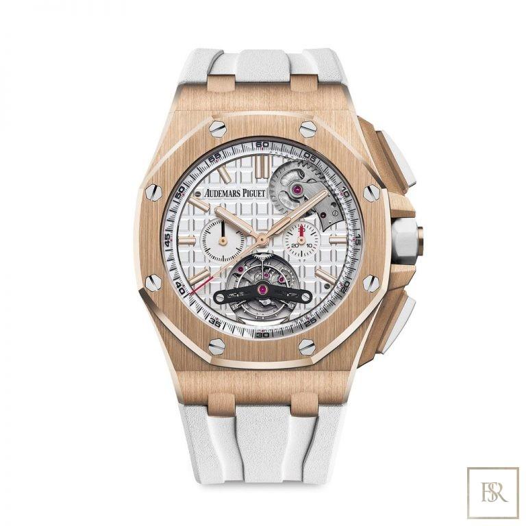 Watch AUDEMARS PIGUET Royal Oak Offshore Tourbillon Chronograph 185000 for sale For Super Rich