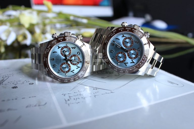 Watch ROLEX Cosmograph Daytona in Platinum Arabic Dial United Arab Emirates for sale For Super Rich