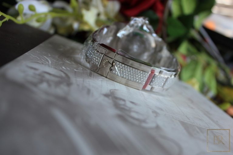 Watch ROLEX Submariner Factory Diamonds & Sapphires United Arab Emirates for sale For Super Rich