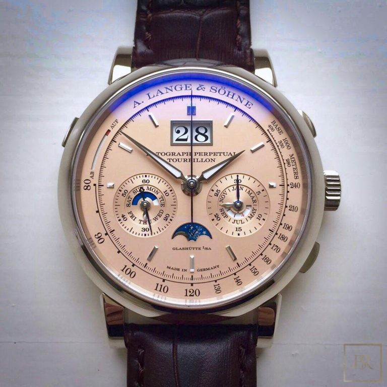 Watch A. LANGE & SÖHNE Datograph Perpetual Tourbillon 41.5 Limited Edition 230000 for sale For Super Rich