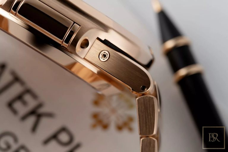 Watch PATEX PHILIPPE Nautilus Chronograph 18k rose gold  ultra luxury for sale For Super Rich