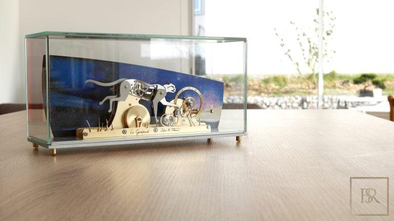 LE GUÉPARD - Poetic clock by John-M.Flaux 0 for sale For Super Rich