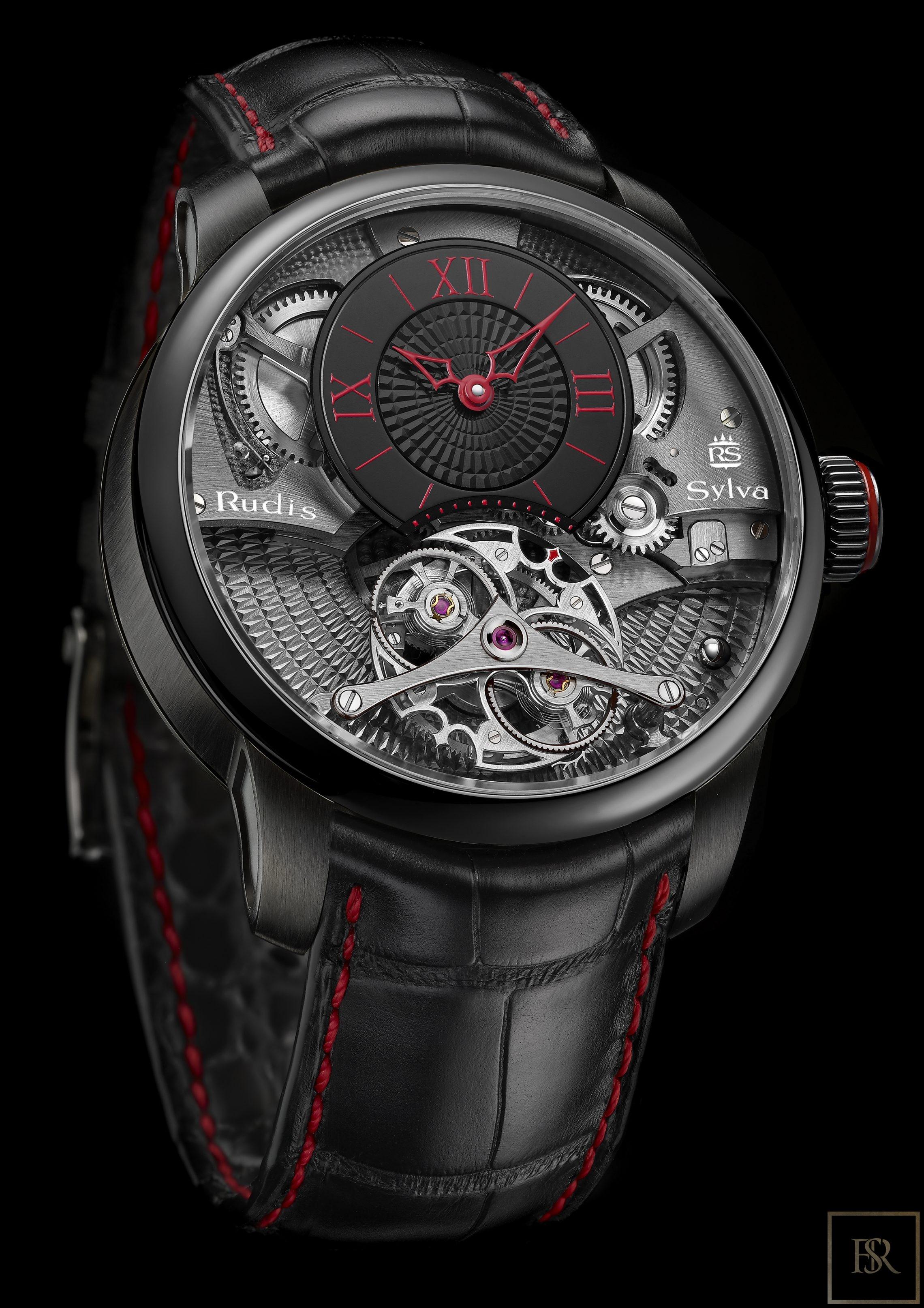 Watch RS14 Black Titanium - RUDIS SYLVA  for sale For Super Rich