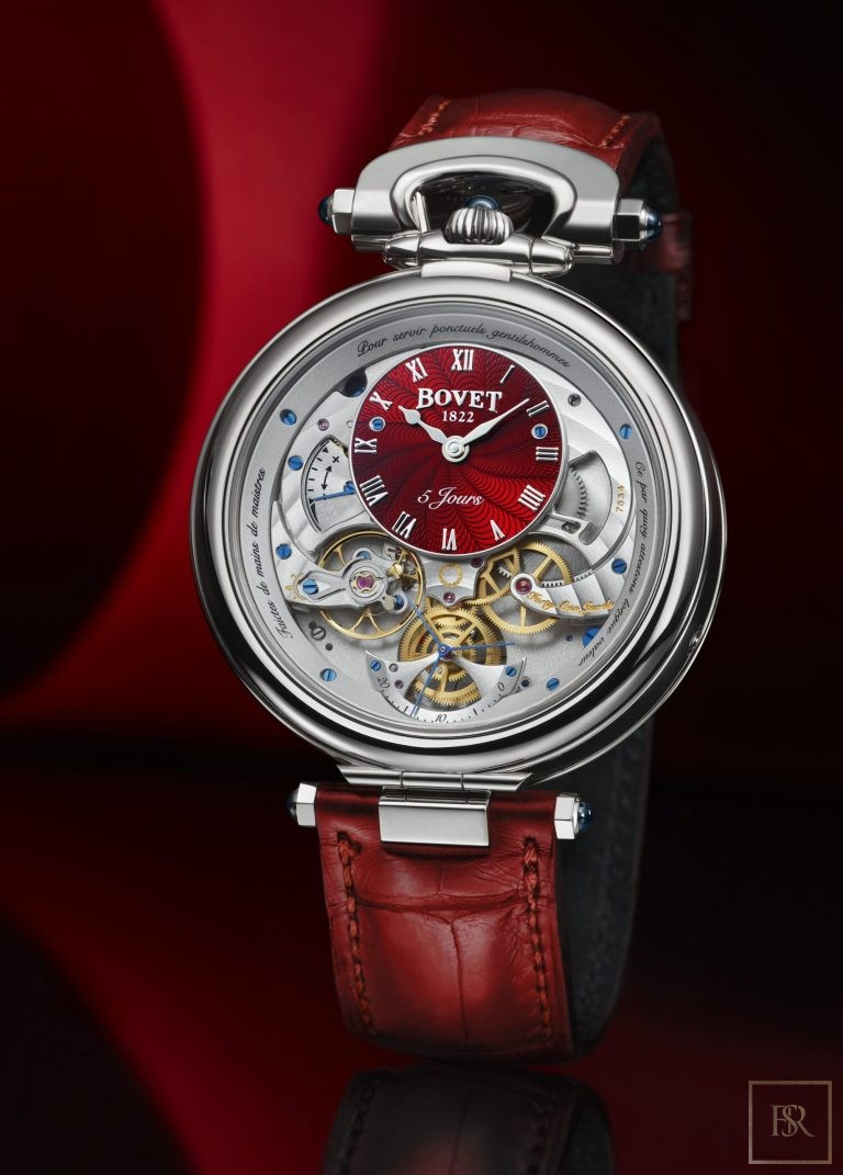 Watch Virtuoso VII Red 18K Gold - BOVET 1822 0 for sale For Super Rich