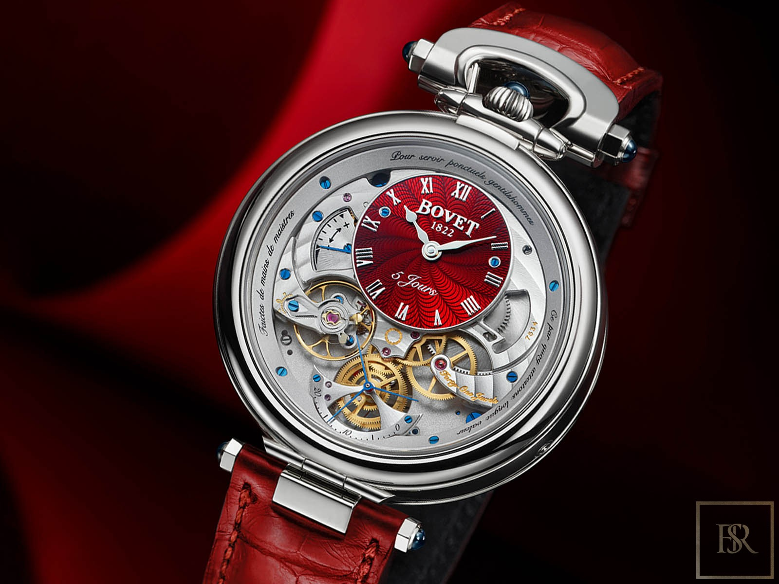 Watch Virtuoso VII Red 18K Gold - BOVET 1822 for sale For Super Rich