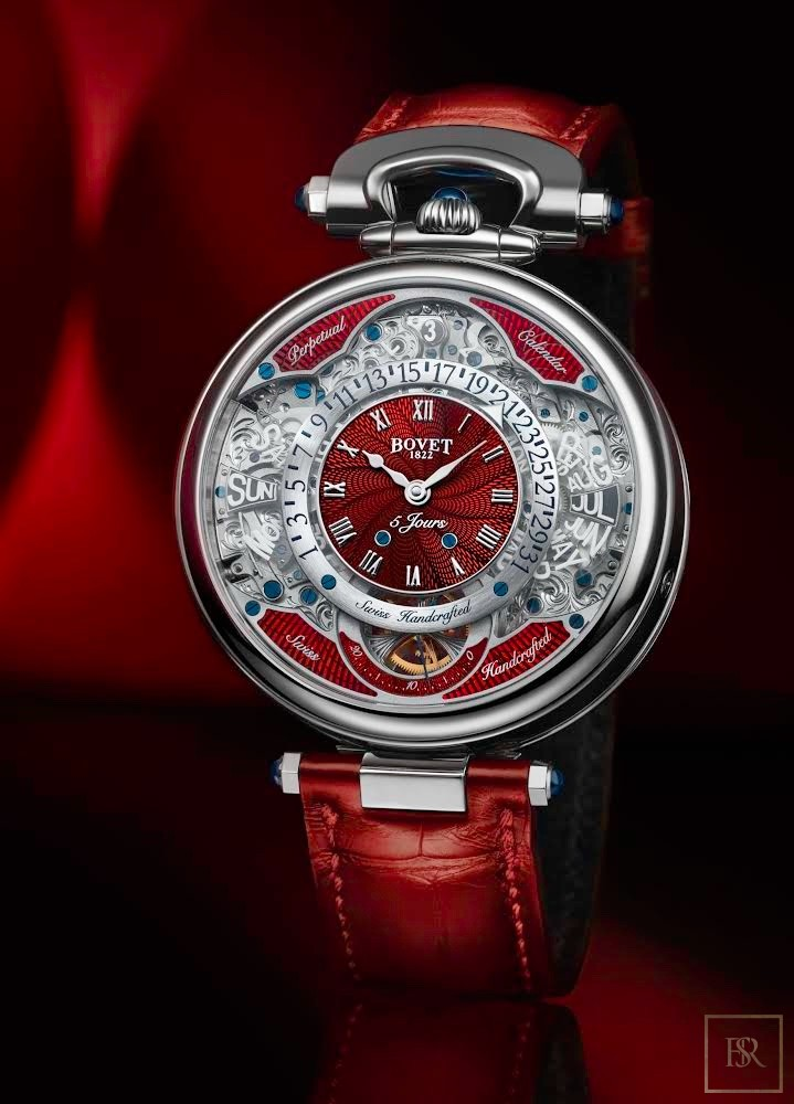 Watch Virtuoso VII Red 18K Gold - BOVET 1822 Monaco for sale For Super Rich