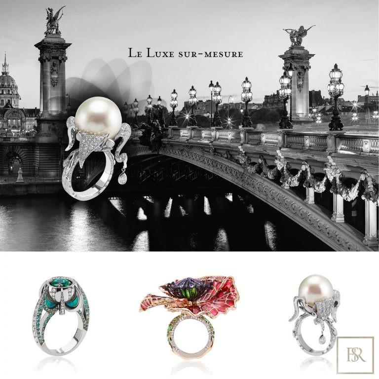 Ring TSARINA - SANDRINE TESSIER France for sale For Super Rich