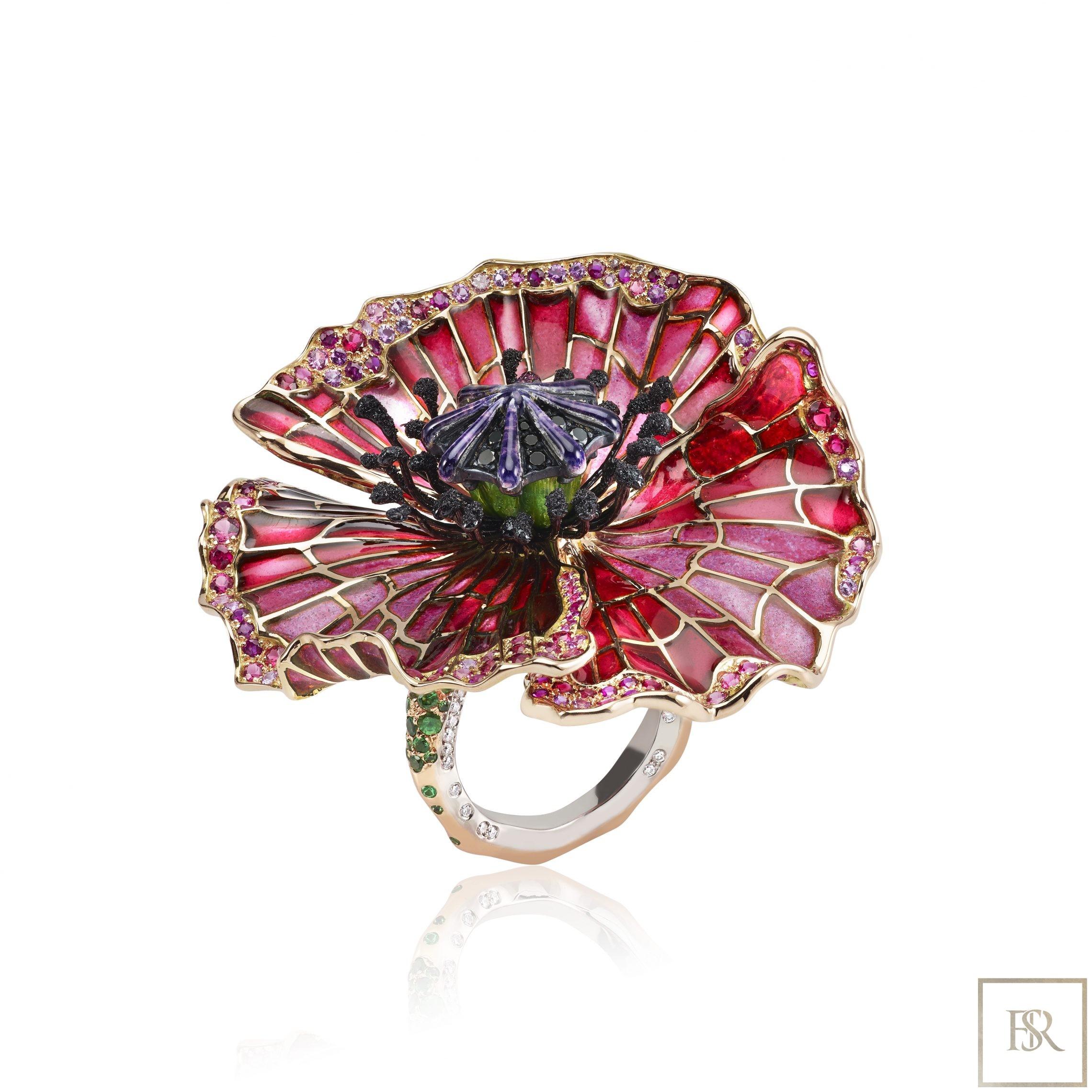 Ring PAVOT - SANDRINE TESSIER for sale For Super Rich