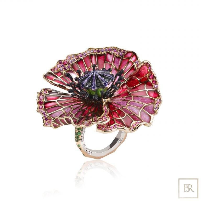 Jewelry, Ring PAVOT Sandrine Tessier