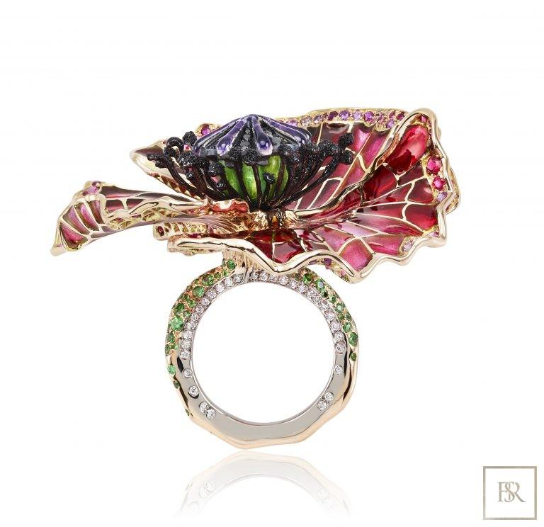 Ring PAVOT - SANDRINE TESSIER 0 for sale For Super Rich