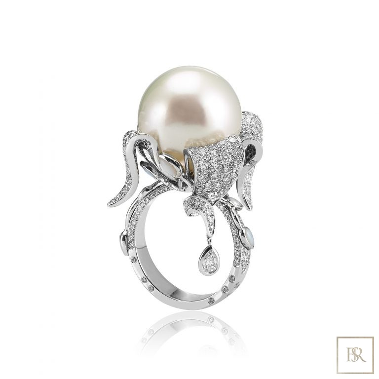 Ring ZIBELINE - SANDRINE TESSIER 105000 for sale For Super Rich