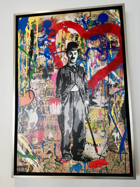 Painting Time Will Tell - Mr. BRAINWASH  Monaco for sale For Super Rich