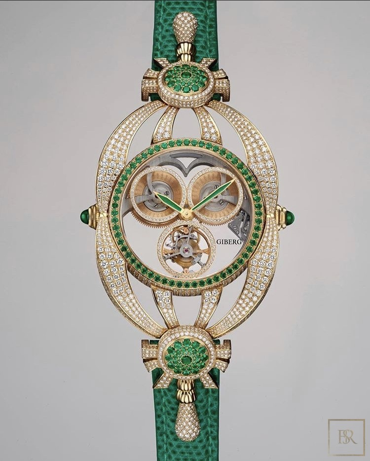 Watch NIURA Emerald - GIBERG Luxury for sale For Super Rich