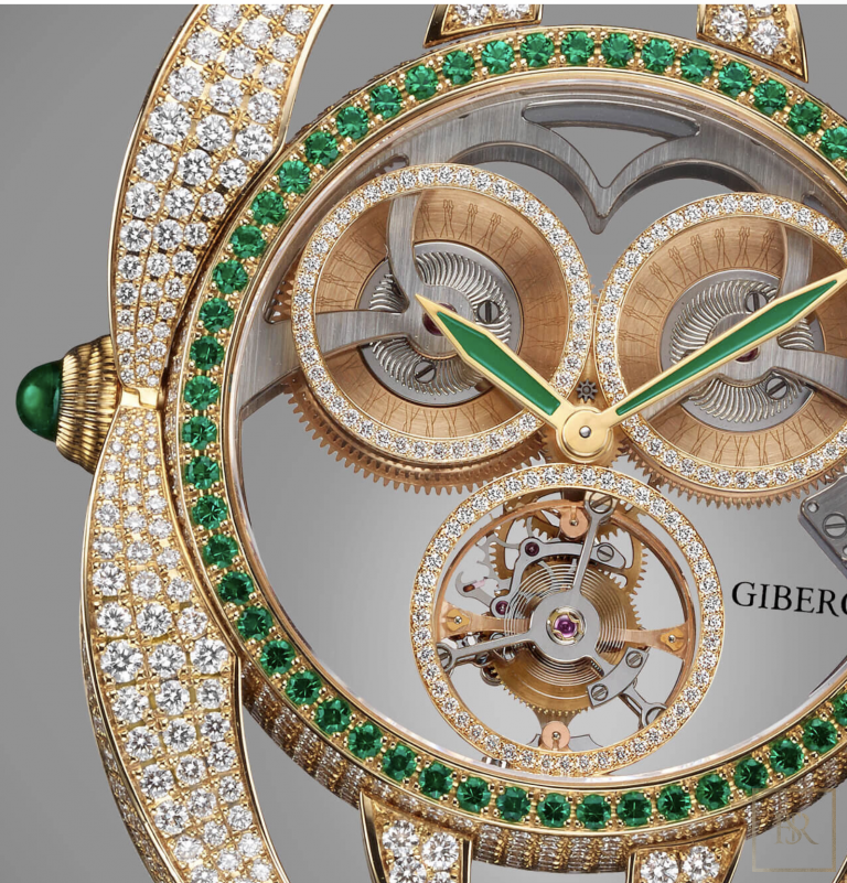 Watch, Giberg NIURA Emerald