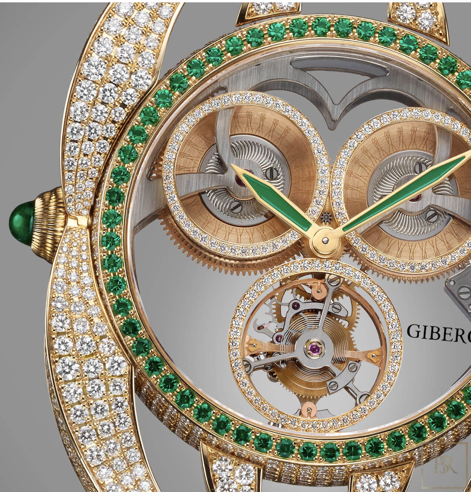 Watch NIURA Emerald - GIBERG for sale For Super Rich
