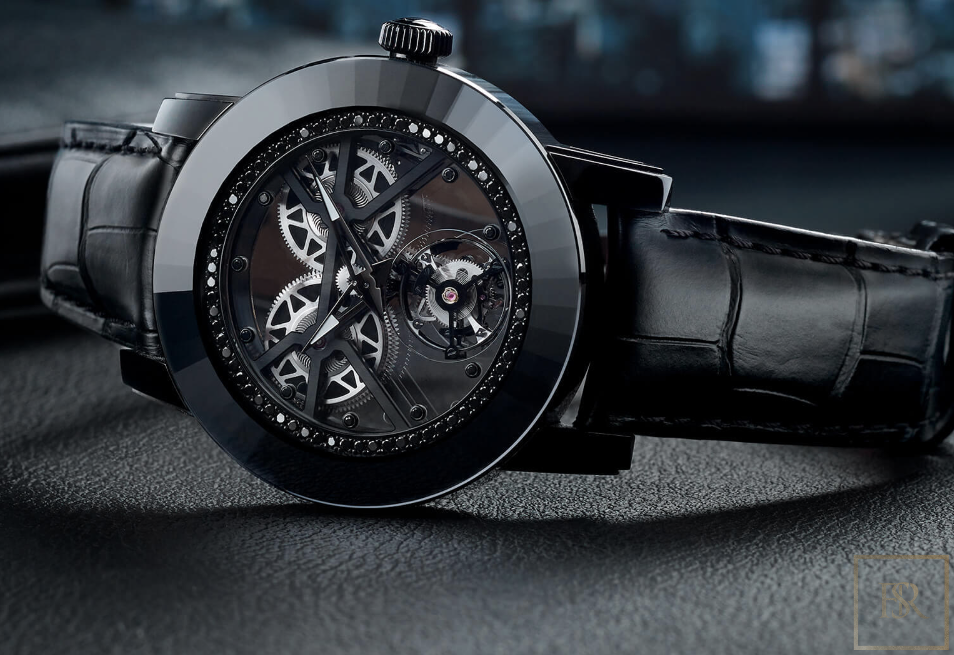 Watch ALAGARO All Black - GIBERG for sale For Super Rich