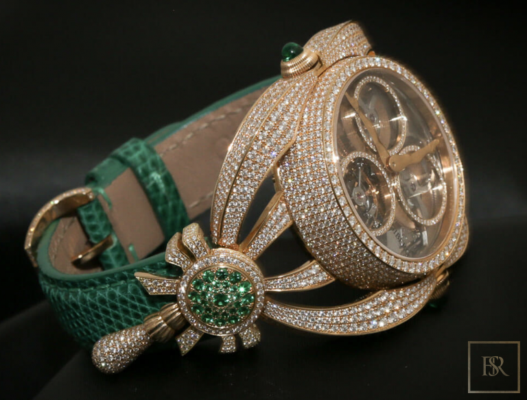 Watch NIURA Emerald - GIBERG ultra luxury for sale For Super Rich