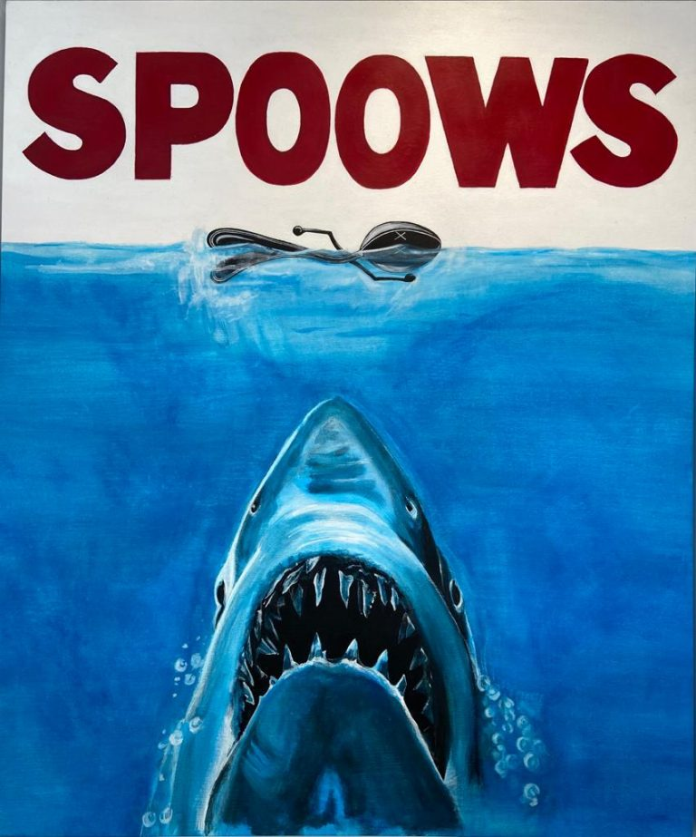 Painting, Mr Spoon Spoows
