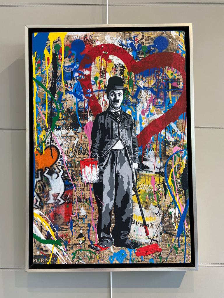 Painting Time Will Tell - Mr. BRAINWASH  0 for sale For Super Rich