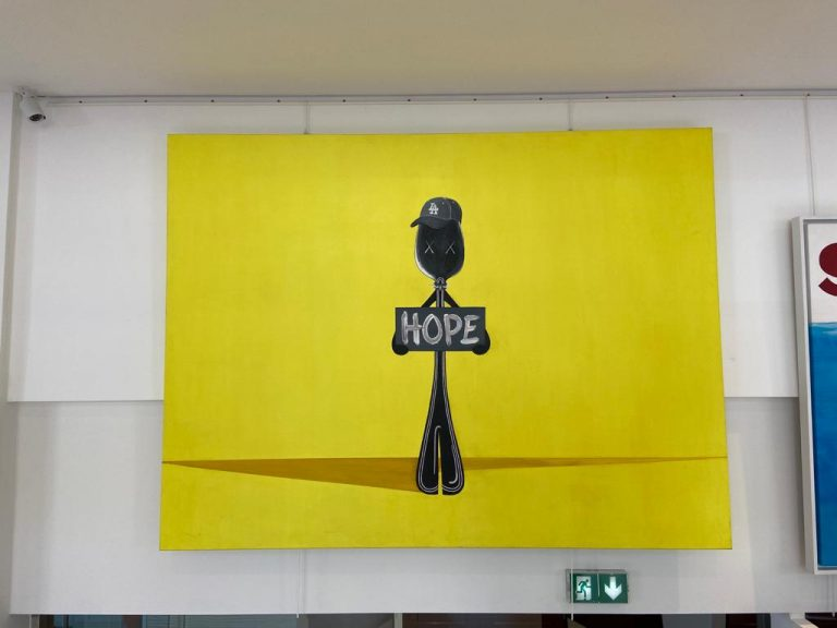 Painting HOPE - MR. SPOON 0 for sale For Super Rich