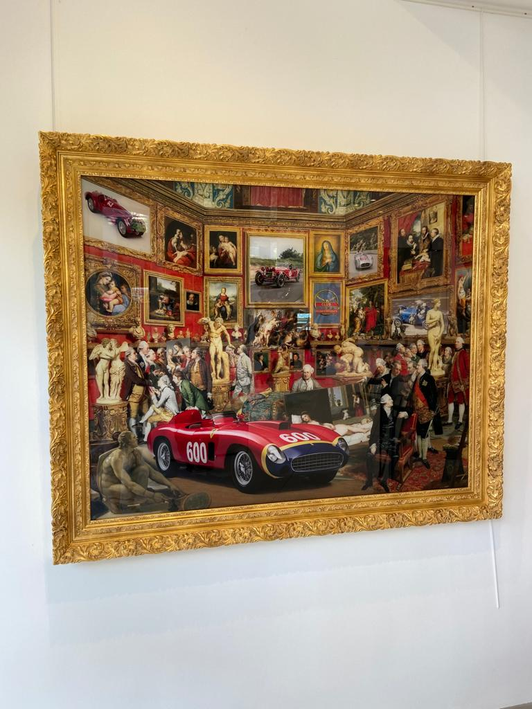 Painting Mille Miglia - MARCO BATTAGLINI 0 for sale For Super Rich