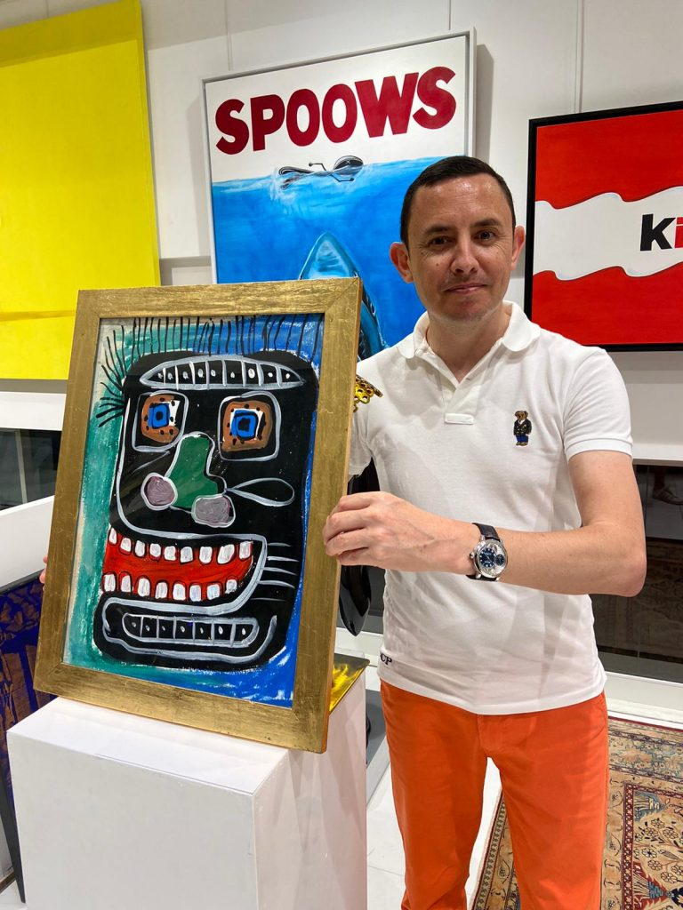 Painting CIRCA - JEAN-MICHEL BASQUIAT  1135000 for sale For Super Rich