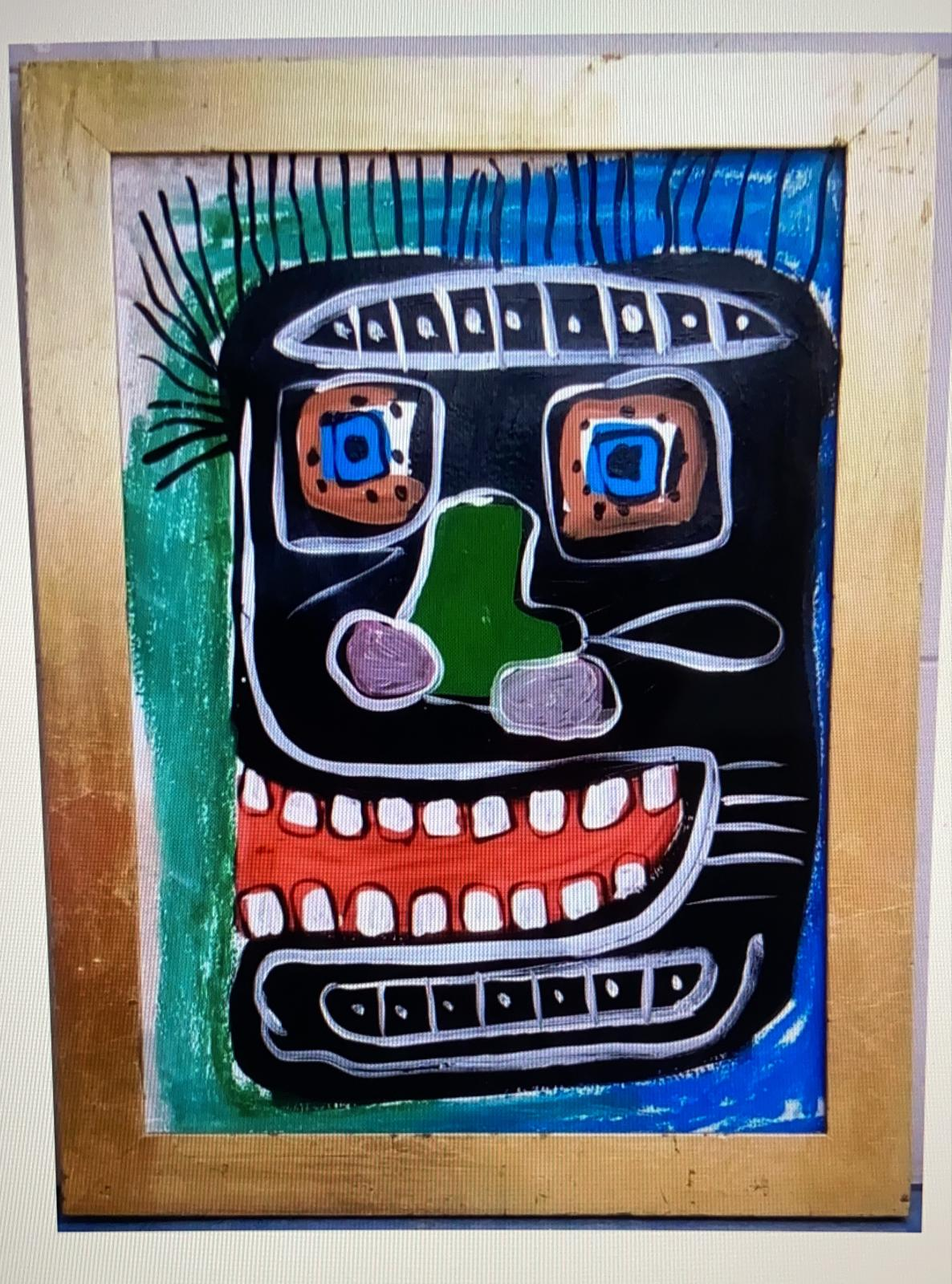 Painting CIRCA - JEAN-MICHEL BASQUIAT  for sale For Super Rich