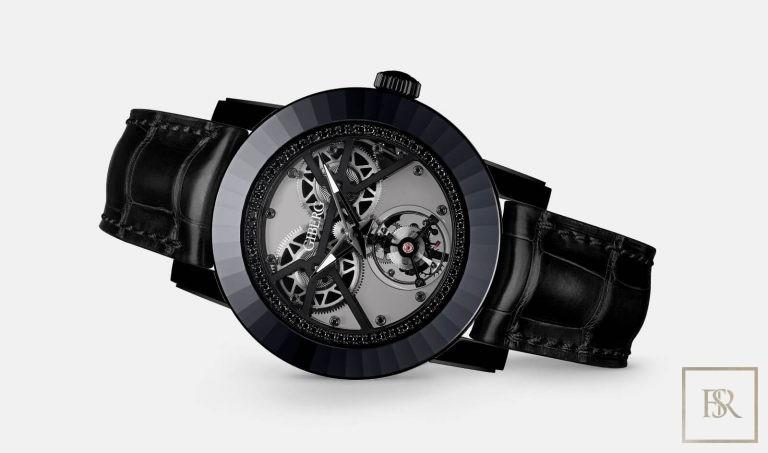 Watch ALAGARO All Black - GIBERG Switzerland for sale For Super Rich