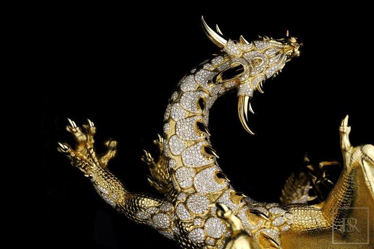 Unique Sculpture Dragon AHTON - GIBERG Unique for sale For Super Rich