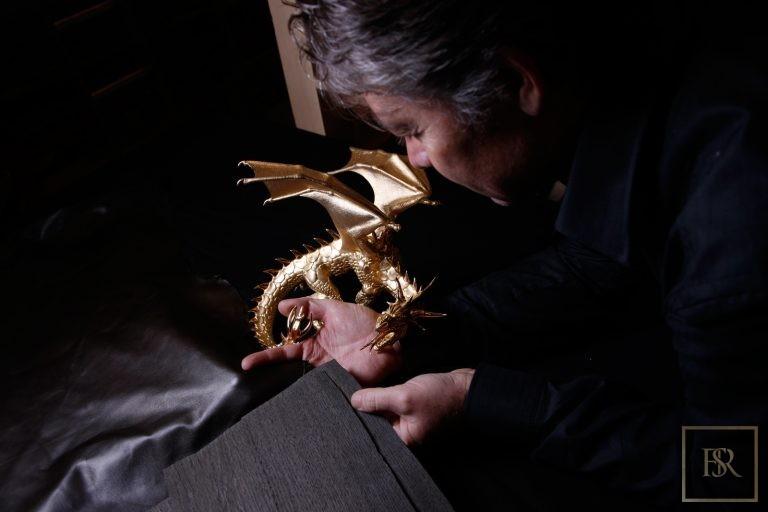 Unique Sculpture Dragon AHTON - GIBERG 0 for sale For Super Rich