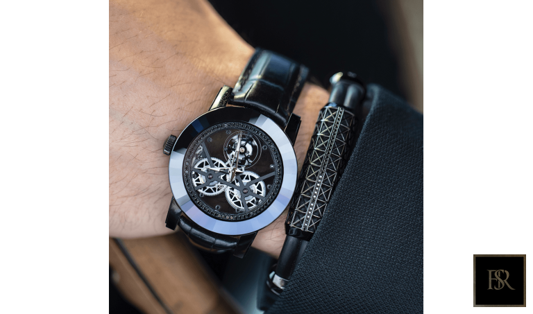 Watch ALAGARO All Black - GIBERG Luxury for sale For Super Rich
