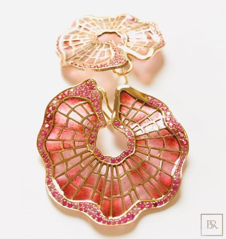Jewelry, Sandrine Tessier Earrings POPPY'S