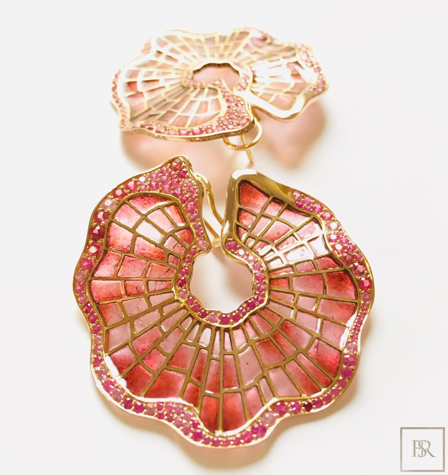 Earrings POPPY'S - SANDRINE TESSIER for sale For Super Rich