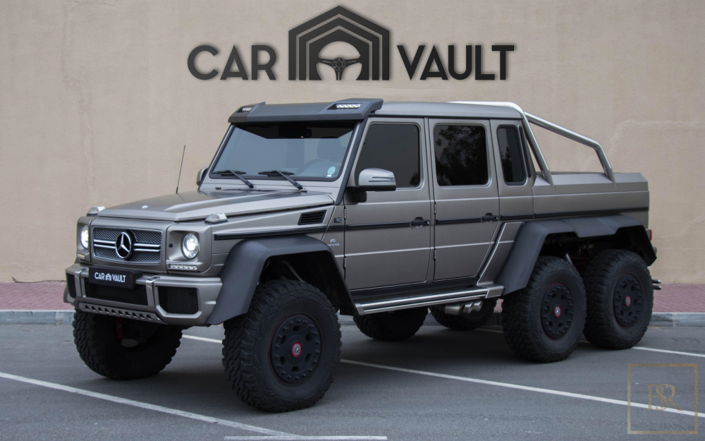 2014 Mercedes G-Class 63 AMG 6X6 for sale For Super Rich