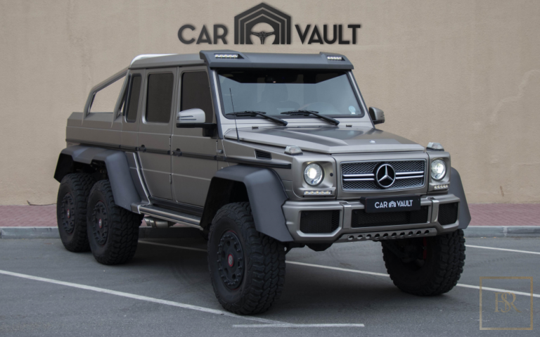 2014 Mercedes G-Class 63 AMG 6X6 Grey for sale For Super Rich