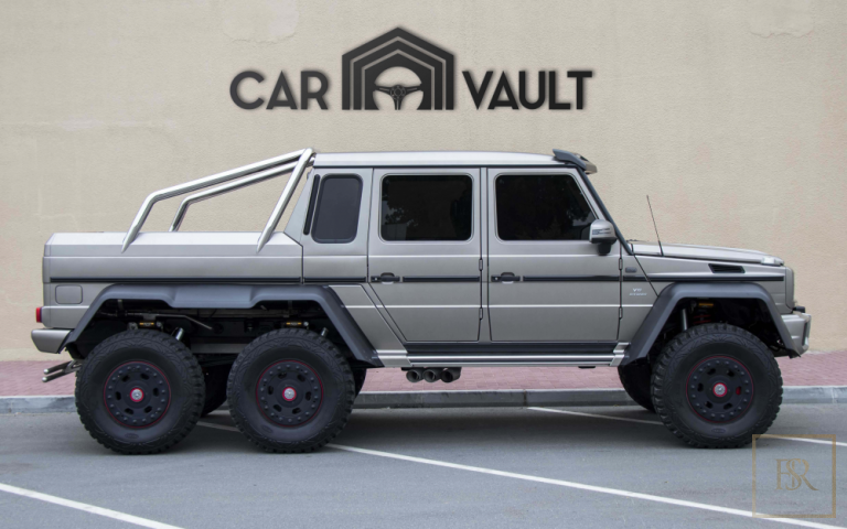 2014 Mercedes G-Class 63 AMG 6X6 Broin for sale For Super Rich
