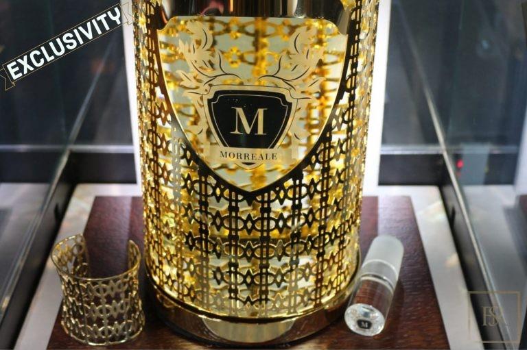 """Collection, Perfume GOLD """"LE MONDE SUR MESURE""""- Morreale Paris"""
