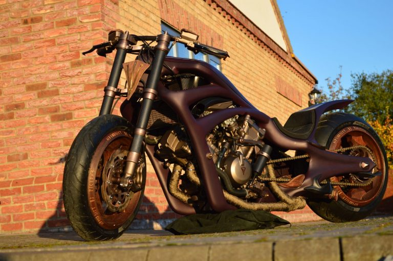 Only 1 in the world Fully Carbon Motorcycle - ONE OFF 150000 for sale For Super Rich