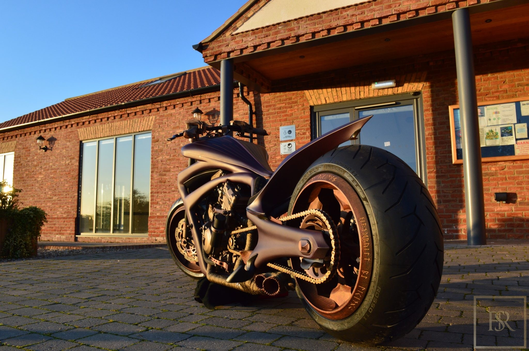 Only 1 in the world Fully Carbon Motorcycle - ONE OFF for sale For Super Rich
